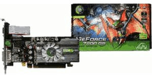 Point Of View GeForce 7200 GS (PCIe