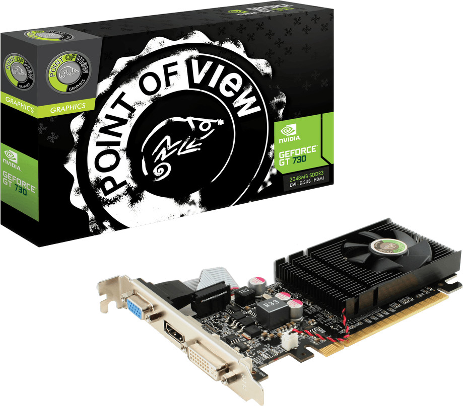 Point Of View GeForce GT 730 2048MB DDR3 - Preisvergleich