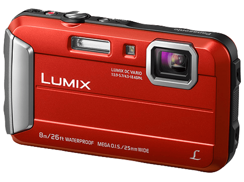 PANASONIC Lumix DMC-FT30EG-D Digitalkamera Rot