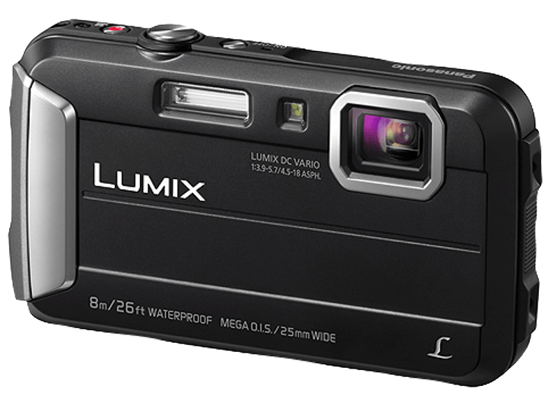 PANASONIC Lumix DMC-FT30EG-D Digitalkamera Schwarz