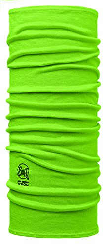 buff-kinder-merino-wool-kids-multifunktionstuch-solid-lime-one-size