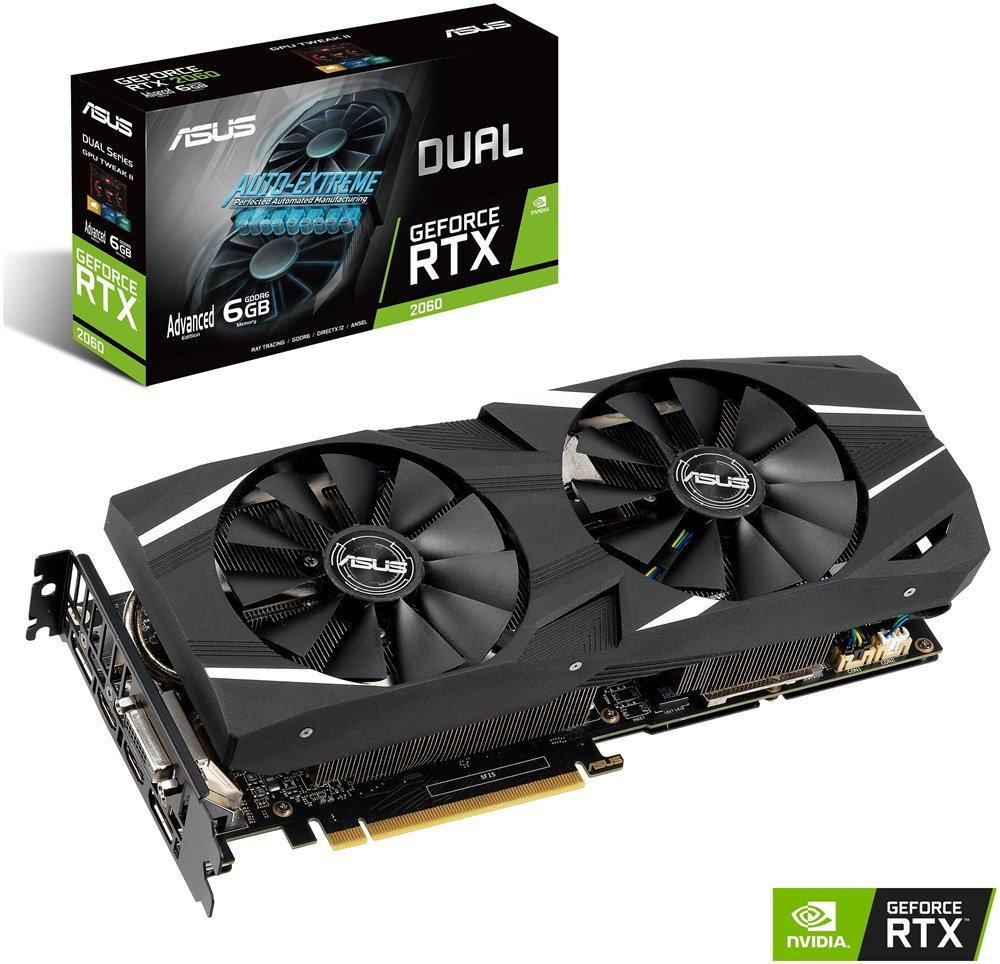 ASUS GeForce RTX 2060 DUAL Advanced DUAL-RTX2060-A6G 6GB Preisvergleich