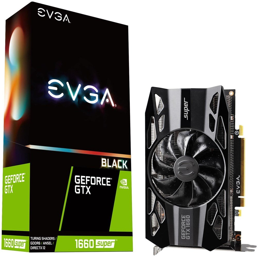 EVGA GeForce GTX 1660 SUPER BLACK GAMING 6GB Preisvergleich