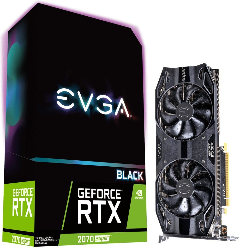 EVGA GeForce RTX 2070 SUPER Black Gaming 8GB Preisvergleich