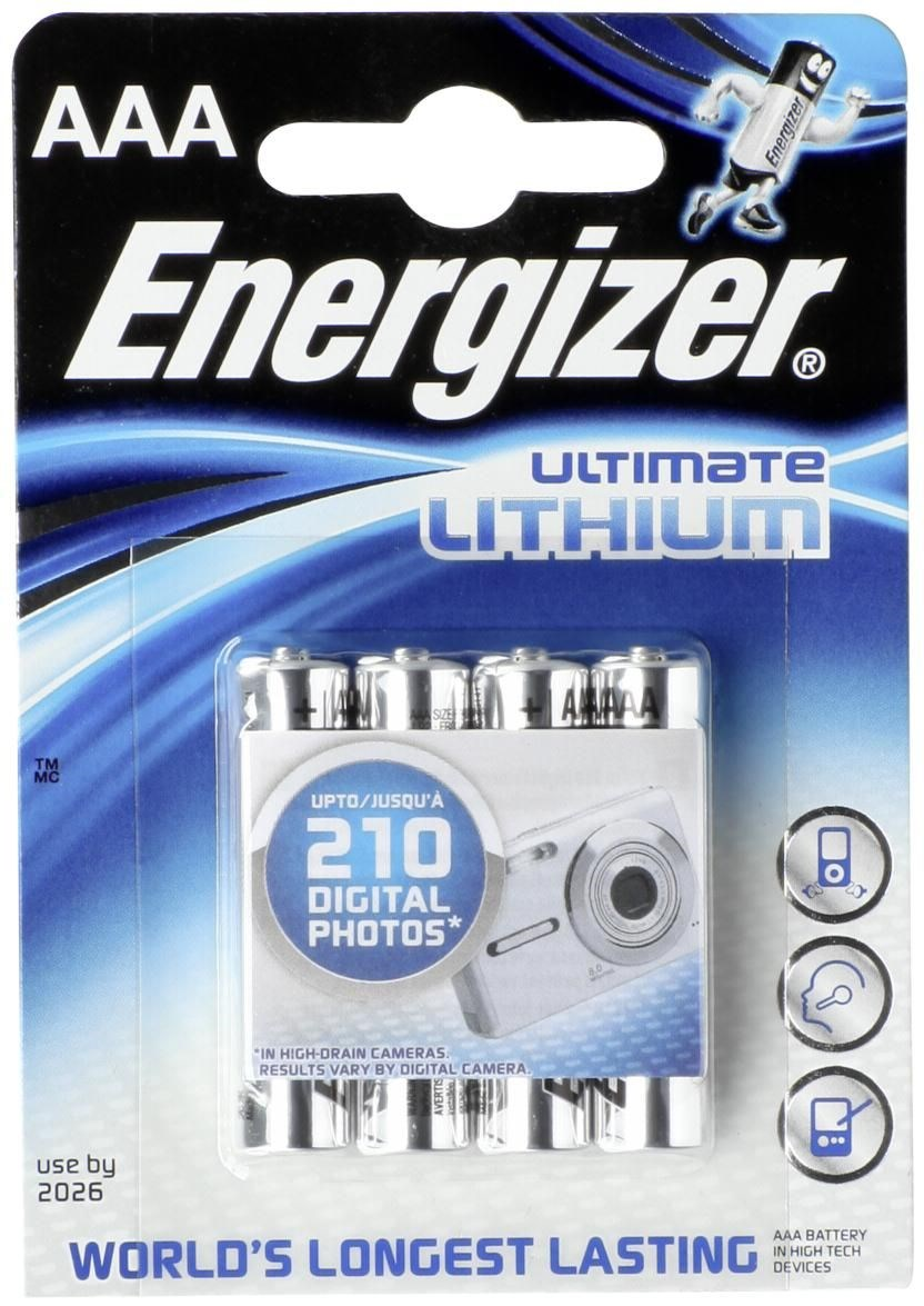 Energizer Ultimate Lithium AAA Batterie 1