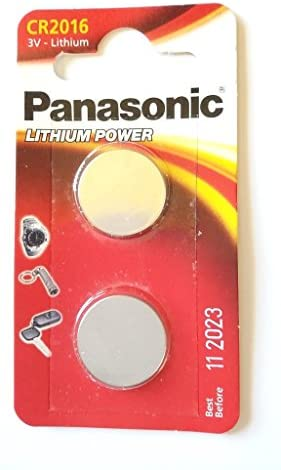 6 Pack Panasonic CR2016 Coin Lithium 3V Battery Batteriesfor Watches Torches Key