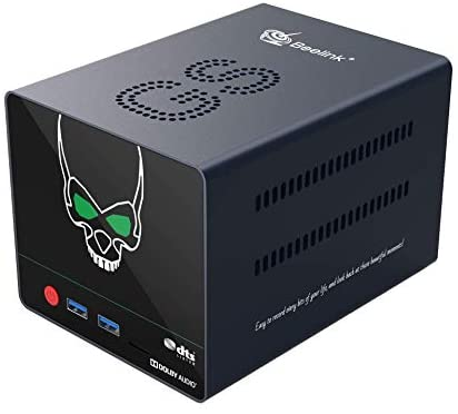 Beelink GS-King X Android TV Multimedia NAS Box; Hexa-Core S922X-H Processor; 64GB eMMc, 4 GB RAM; Expandable Storage Up to 32TB; Android 9.0 & CoreELEC Dual Boot