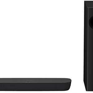 Panasonic SC-HTB254EGK 2.1 Soundbar System mit Subwoofer (Bluetooth, Dolby Soundbar, Multiroom Audio, HDMI ARC, 120 Watt RMS) schwarz